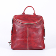 Beautiful Dragon premium suede cowhide double leather shoulder bag women's backpack 2015 new European and American trends handbags