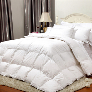Hotel clubhouse white bedding quilt quilt velvet quilt feather fabric
