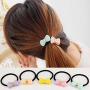 Know Richie Korean hair accessories made by the lovely Bunny head ornaments cute bow elastic rope