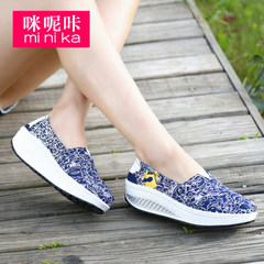 Ka 2015 summer styles-imidazole breathable Korean boom shook the canvas shoes women shoes fashion casual shoes lazy people shoes