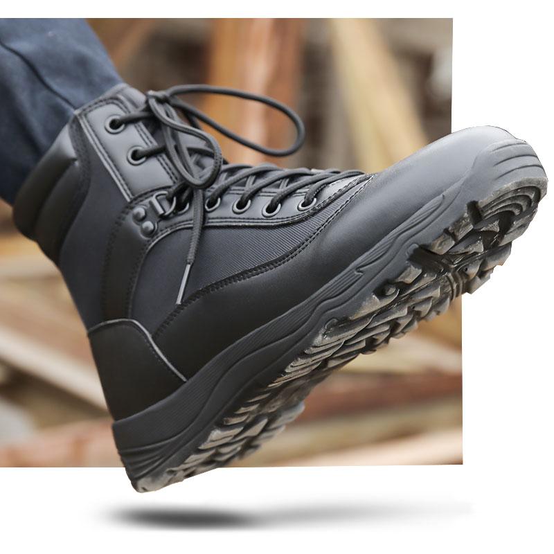 秋冬耐磨作战靴特种兵军靴男战术靴陆战靴透气减震登山靴军迷军鞋