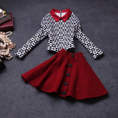 2014 early fall the new women's Western fashion long sleeve ladies elegant suits autumn dress #