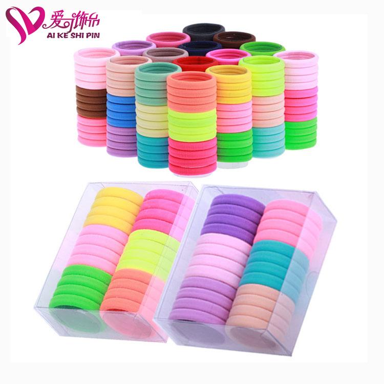 韩国可爱头绳发圈小清新加粗耐用橡皮筋学生成人扎马尾发绳发饰品