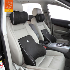 GIGI汽车头枕 G-1335 竹炭记忆棉护颈枕 车用靠枕 车载座椅枕
