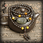 Opening ice kind of Obsidian bracelet 2016 monkey SpongeBob beads Samantabhadra mascot bracelets for men and women