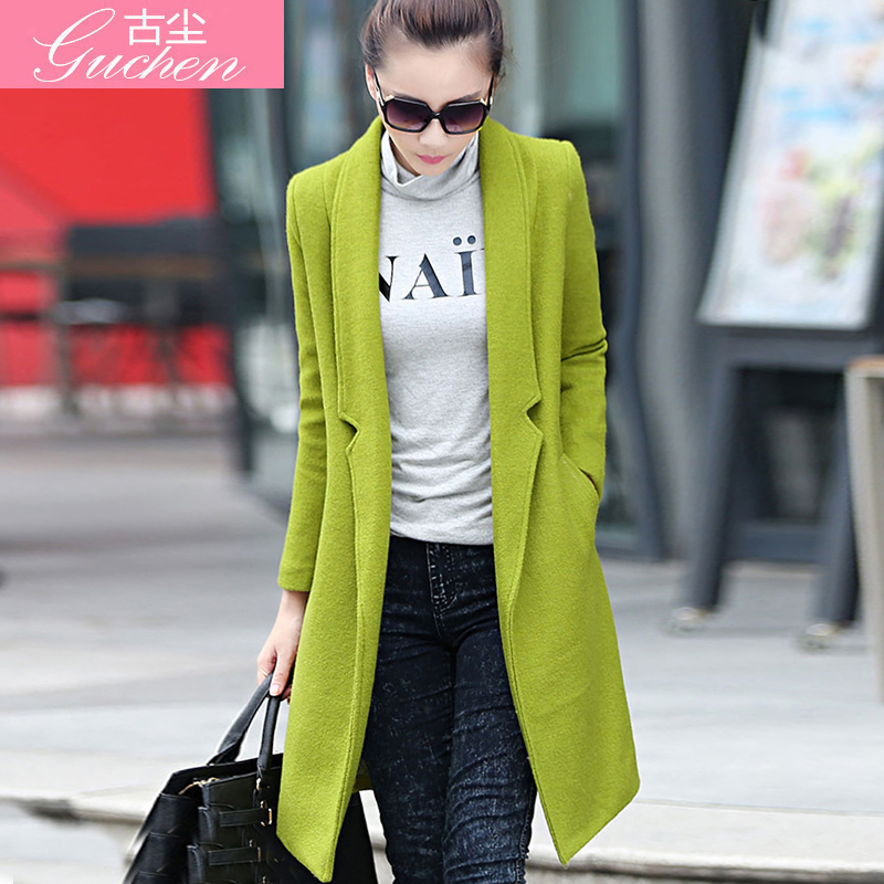 Collection Womens Green Wool Coat Pictures - Reikian