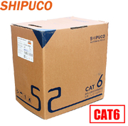 SHIPUCO genuine non-shielded cables CAT6 cable six twisted 8-core copper 300 meters