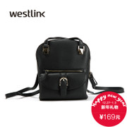 Westlink/West spring 2016 new wave Korean shoulder School of dual-use air bag female bag