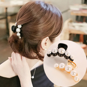 Know Connie hair accessories Korean Pearl catch clip hair clips simple temperament of cauda equina buckle clip card head jewelry