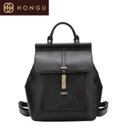 Honggu Hong Gu 2015 counters authentic new solid color suede leather backpack leather shoulder handbag 6286