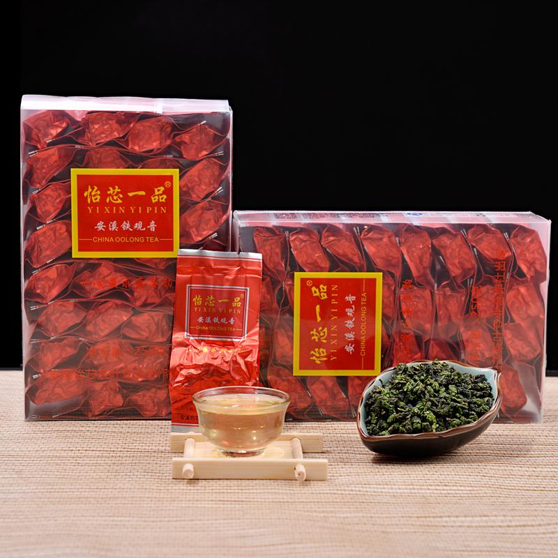 铁观音浓香型 乌龙茶叶 新茶高山正品1725 秋茶散装500g
