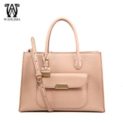 Ms Wan Lima 2015 spring new fashion leather women bag handbag shoulder bag genuine counter packages