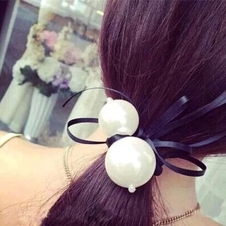 Know NI Korea tiara hair accessories flower faux Pearl tassels Ribbon Butterfly first ring rope string women