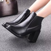 Fall 2015 women's shoes shoes boot winter high with thick with tide girls wind of England Martin short boots women's boots boots boots