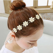Email Korea drill retro Flash Sun flowers faux Pearl rhinestone Butterfly bandages Korean headband hair accessories