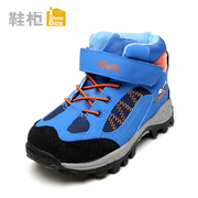 Shoe shoebox2015 winter boots for children men and non-slip motion Velcro low tube boots 1115627204