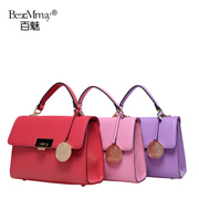 Hundreds of new real leather women bag charm 2015 summer fashion ornaments shoulder hand bag small