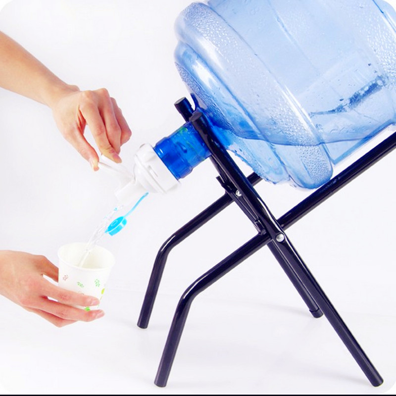 矿泉水桶支架饮水机学生纯净水桶装水压水器倒置饮水器神器抽水器