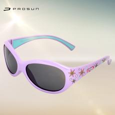 保圣儿童太阳镜男童女童遮阳镜偏光镜防辐射礼物蛤蟆镜S1204 正品