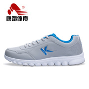 Kang step new running shoes men and couples shoes fall shock absorber women running shoes sneakers casual shoes leather