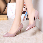 2015 new Korean fashion sexy stiletto high heels in summer and autumn asakuchi OL shoes Club shoes wedding shoes women's shoes