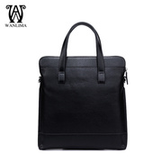 Wan Lima man bag handbags handbag bag leather men trend soft leather men's casual handbag