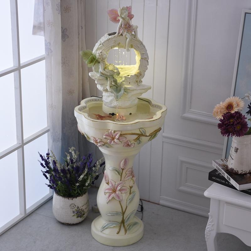 新婚闺蜜结婚礼物喷泉流水摆设风水轮摆件乔迁新居送礼品创意实用