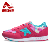 Kang step women's Shoes Sneakers retro running shoe Forrest portable non-slip shoes girl Korean version flows air flat casual shoes