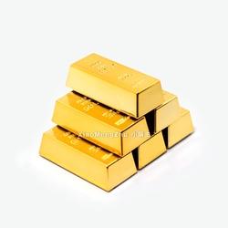 礼品礼物金条金砖冰箱贴 创意黄金磁铁磁贴 特色家居饰品装饰贴