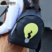 DHH2016 fashion trends for spring/summer new style embroidered shoulder bag women bags Cute College wind mini backpack