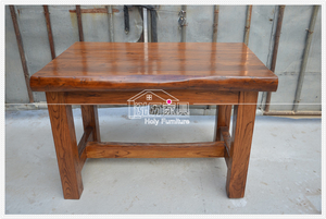 Northern old elm residential furniture original ecological restaurant wine restaurant tea house hot pot restaurant snack table and chairs