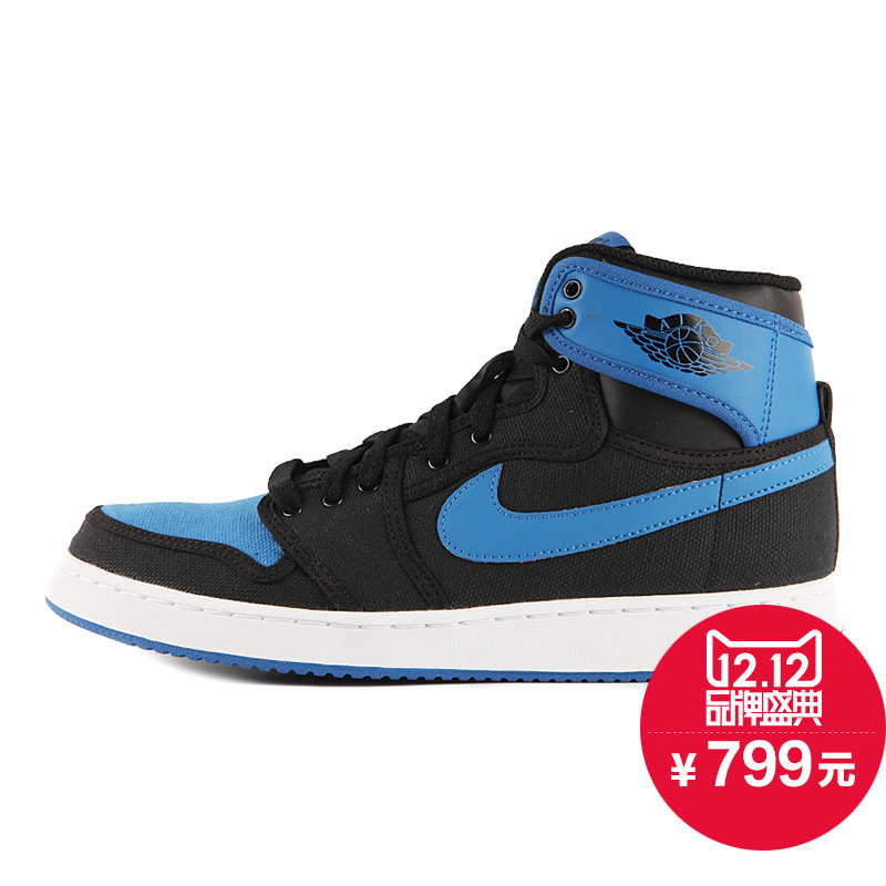 Nike Air Jordan 1 KO Royal Blue AJ1 乔1黑蓝男鞋 638471-007