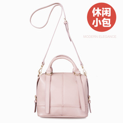 2015 summer retro leather new handbag inclined bag ladies handbag shoulder bag in summer tide small bag