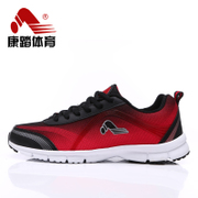 Kang take Highway summer genuine new lace black/red mesh sneakers men's running shoes men slow air running shoes