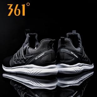 361男鞋跑步鞋冬季新款学生跑鞋子361度官方透气休闲旅游运动鞋男
