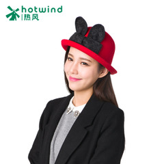 Hot spring and autumn and winter ladies and t hat a lovely bowknot rabbit ears Hat hats 81H155700