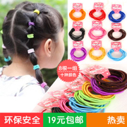 Know Richie simple Candy-colored baby hair accessories Korean children rope hair fine hair elastic head jewelry
