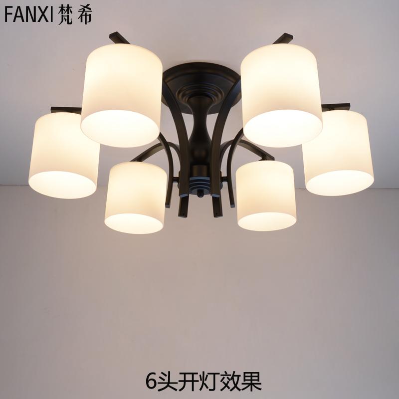 梵希灯具简欧温馨美式吸顶灯,梵希灯具属几线品牌图片