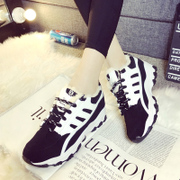 2015 spring new Korean air cushion shoes sports shoes shoes with platform students Forrest Gump running shoes