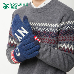 Hot new men's letters-woolen gloves winter warm knit mittens men's 88W035700