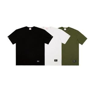 NODOT: TAGLESS PRINT T-SHIRT 純棉三色直筒打底重磅舒適T恤