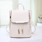 Baby Tao explosions trend of the best selling women's backpack bag college students ' schoolbags solid Pu bag beauty