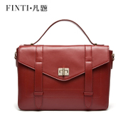 2015 fashion leather women bag trend in Europe and America, Japan and South Korea edition single diagonal shoulder handbag clamshell suede cow leather bag