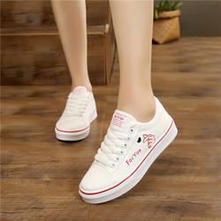 10岁女童帆布鞋11小学生12儿童布鞋13春秋新款中大童14白色球鞋15