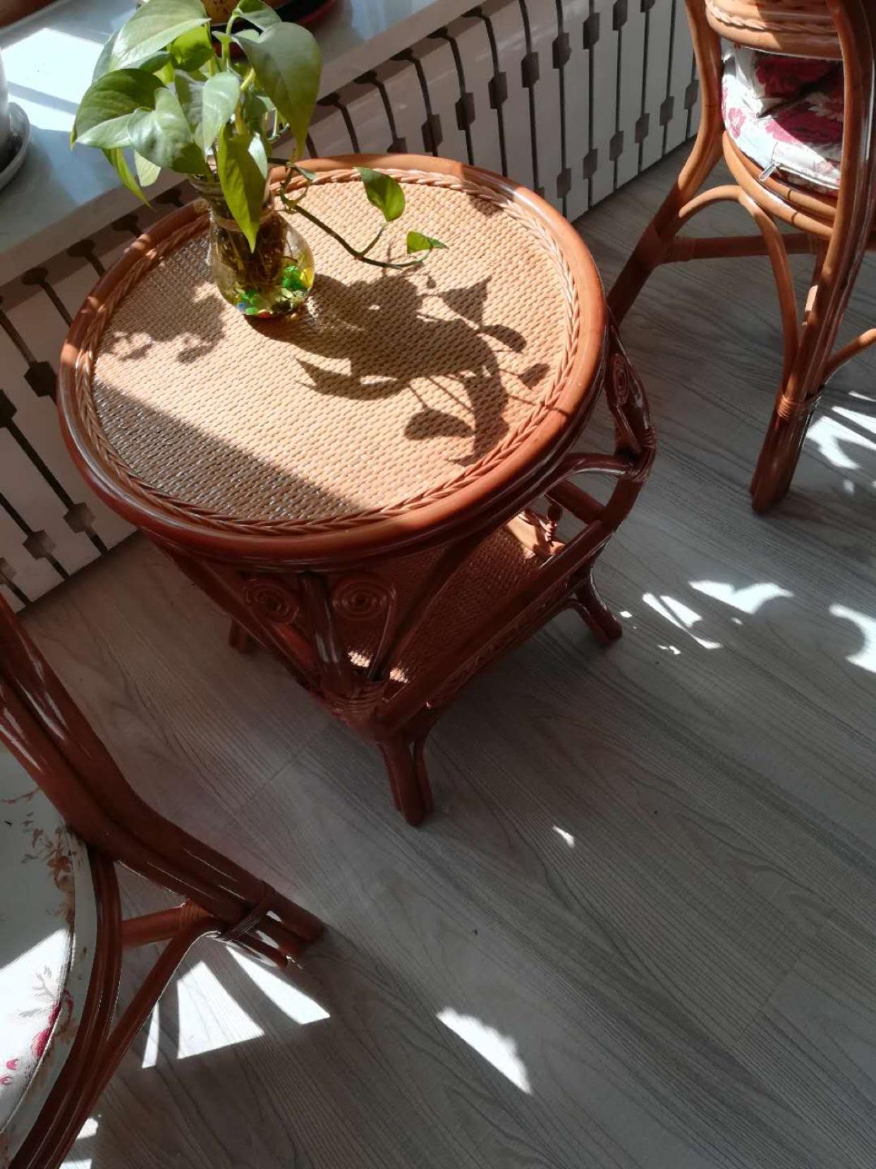 评价点评藤佳人WY1017藤椅茶几组合反馈如何,使用心得感受!