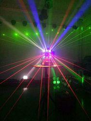 16颗三合一摇头效果灯激光光束频闪舞台灯光 酒吧KTV包房慢摇吧灯