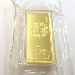 仿真金条招财摆件中国银行金条金砖送礼铜镀金银行金店样品金条