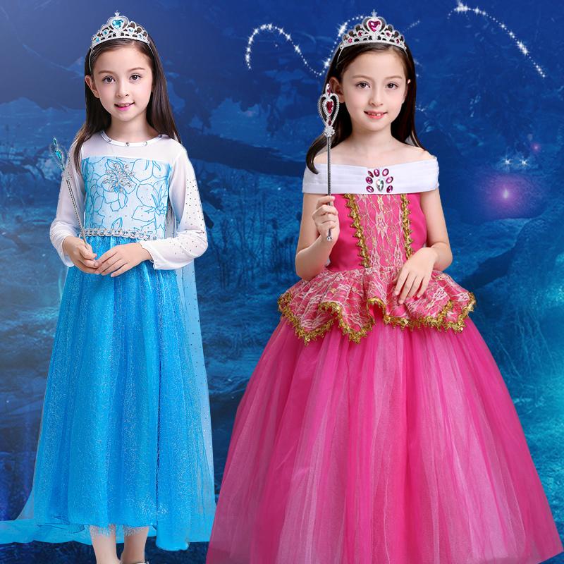 万圣节儿童服装女童宝宝cosplay角色扮演公主裙装扮表演女孩衣服