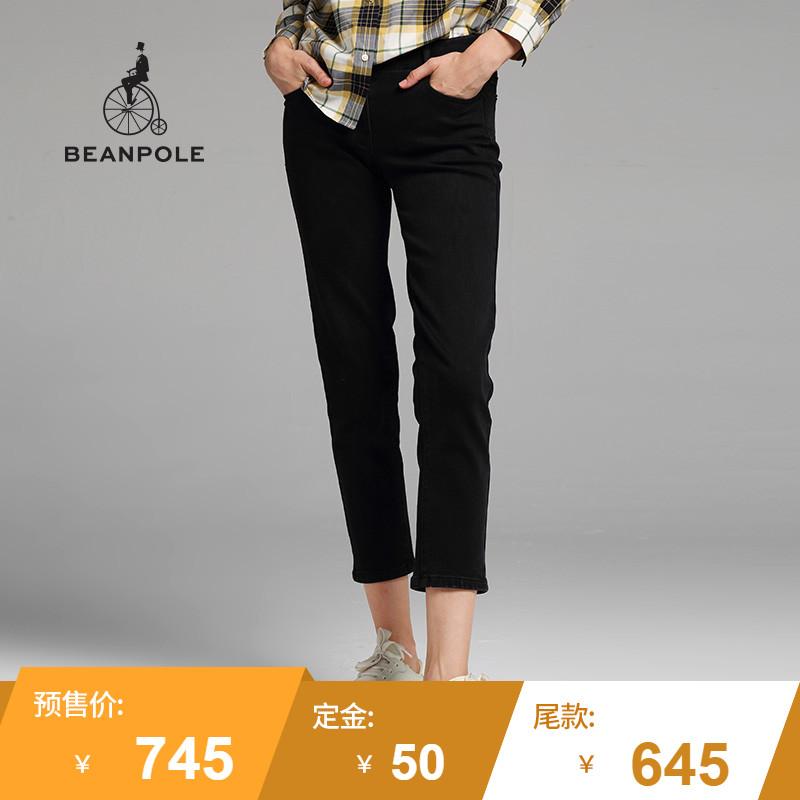 【预售】BEANPOLE滨波 2017商场同款女士休闲款九分裤 BF7721Z02