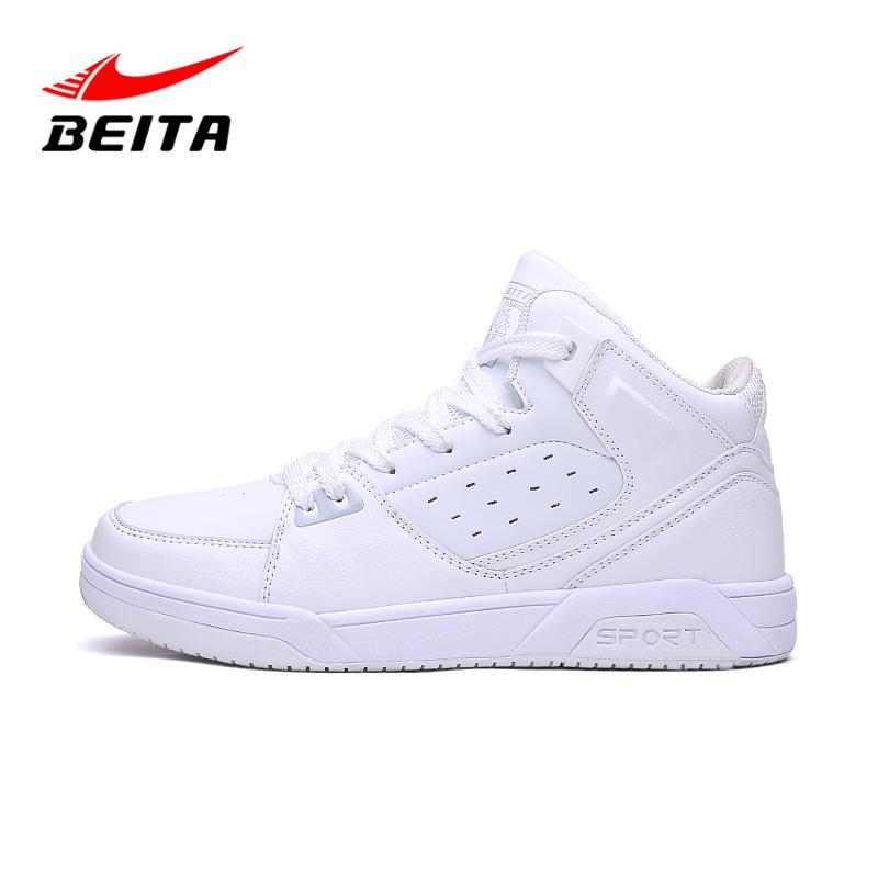 冬季新款全白色篮球鞋女战靴情侣高帮休闲运动板鞋学生低帮球鞋男